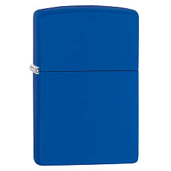 Зажигалка Classic с покр. Royal Blue Matte синяя Zippo 229 GS