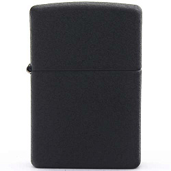 Зажигалка Classic с покр. Black Crackle чёрная Zippo 236 GS